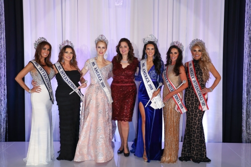 CEO - Susan Jeske with 2017 and 2018 National Titleholders