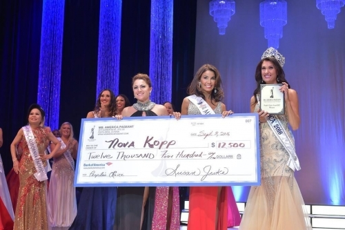 Ms. International 2017 - Nova Kopp also won the Poeple's Choice Award! She won $12,500.00 Cash!