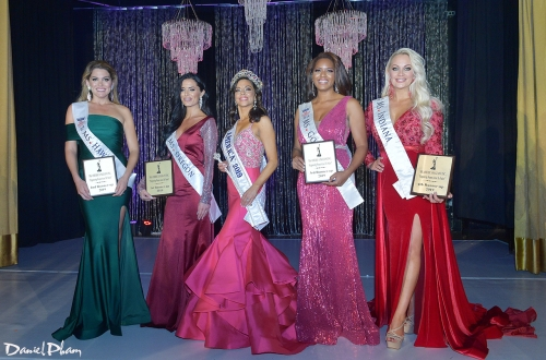 Ms. America 2019-20 and the four runner-ups